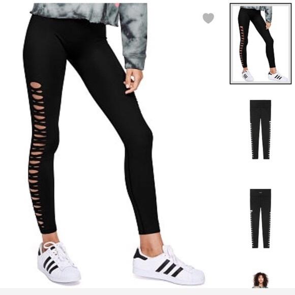 d15a5f6fe049c7 Victoria's Secret Pink Cool & Comfy Cutout Legging.  M_5b538fd9dcfb5a5bf4e8b499
